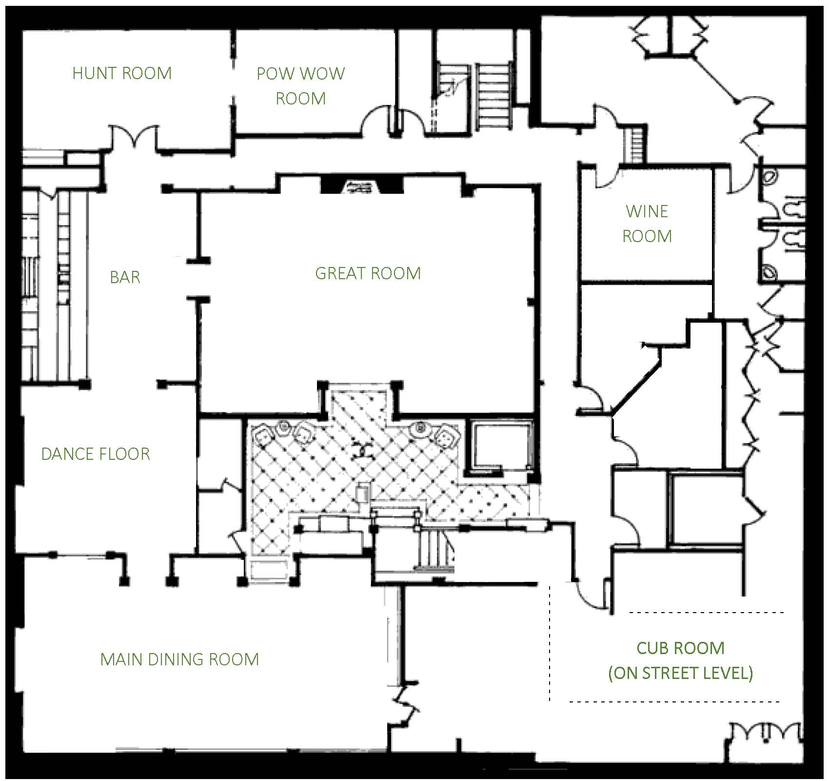 Caribou Club Floor Plan