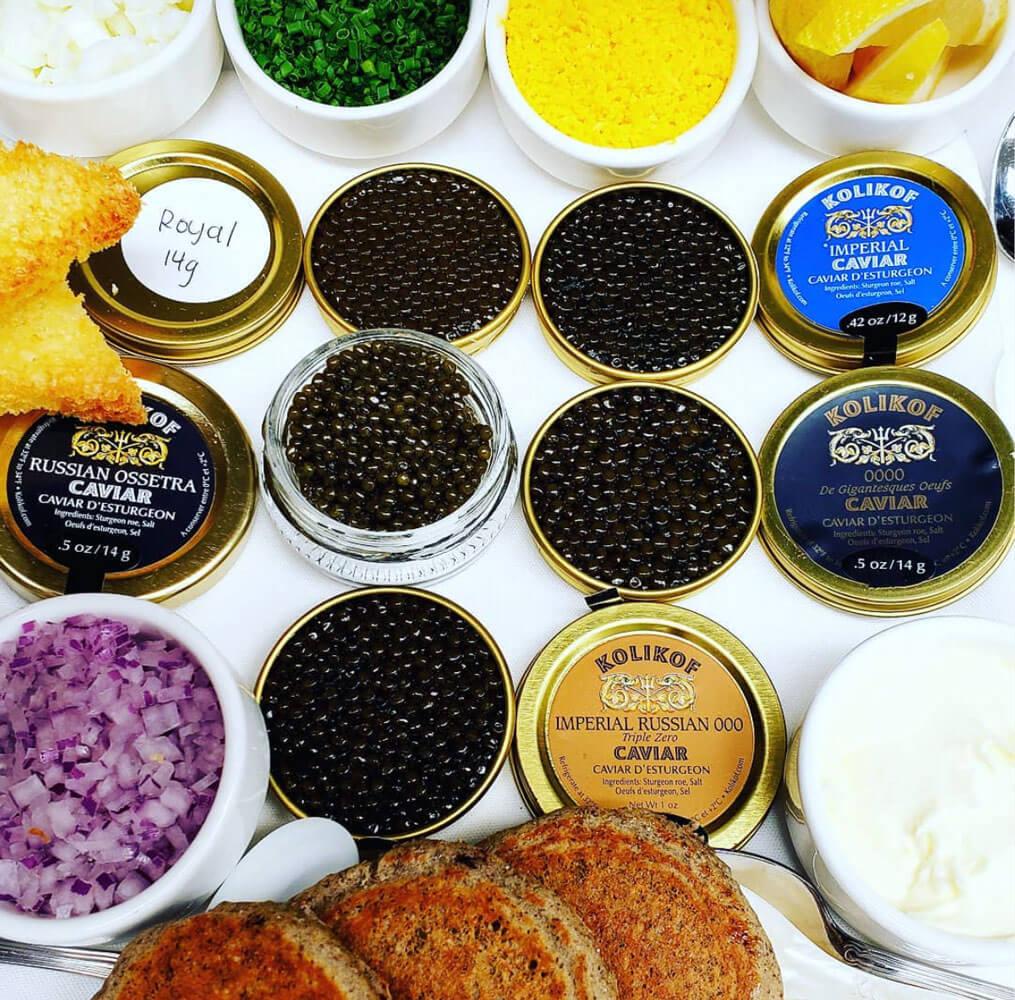 Caviar in Aspen
