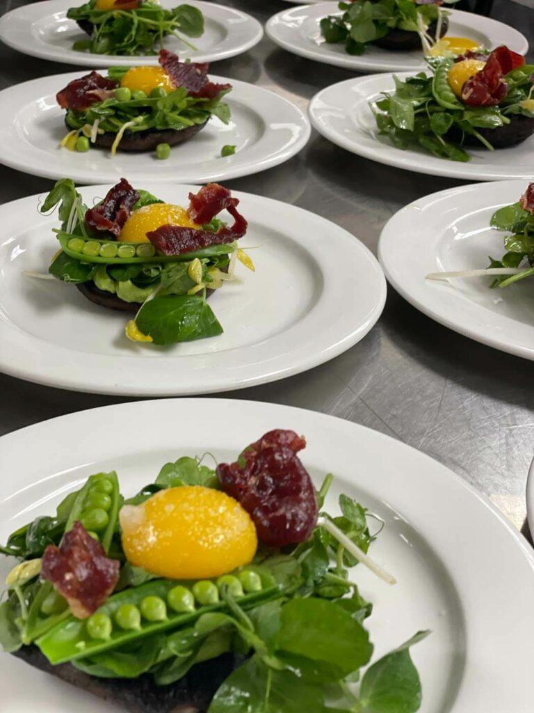 Caribou Club catering in Aspen